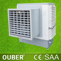 Residential water cooled evaporative air conditioner window type evaporative air cooler hot sale in sudan