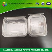 Disposable PET custom transparent food container