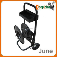 Moving Carts with 2 wheel, pet strapping dispenser steel