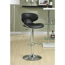 Antique DELUXE DUO High Back Counter Height Stools in Wholesale / Adjustable swivel PU leather barstool CL - 2112