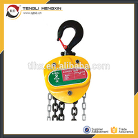 Most popurlar specifications of chain block