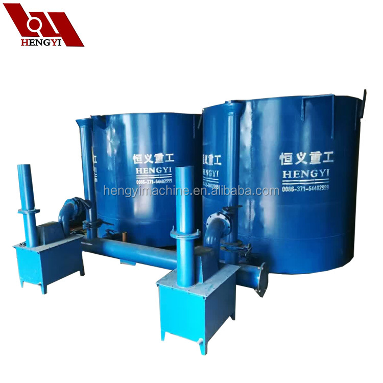 Hoisting type smoking purification system hardwood coconut wood charcoal making machine for sale