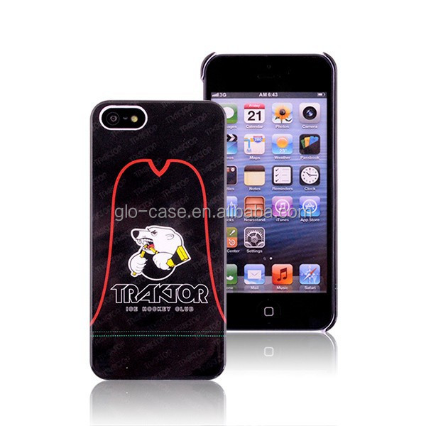 Custom Logo Back Cover Case for iPhone 5