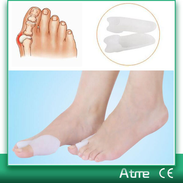 Made in China High Quality Silicone Toe Separator Personal Care Toe Straight Bunion Cushion
