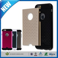 C&T Hybrid High Impact Double Layer Armor Defender Case Protective Cover for Apple iPhone 6 (5.5 inch Screen)