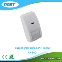 mini wired pir motion sensor detector PA-80D, CE&ROHS