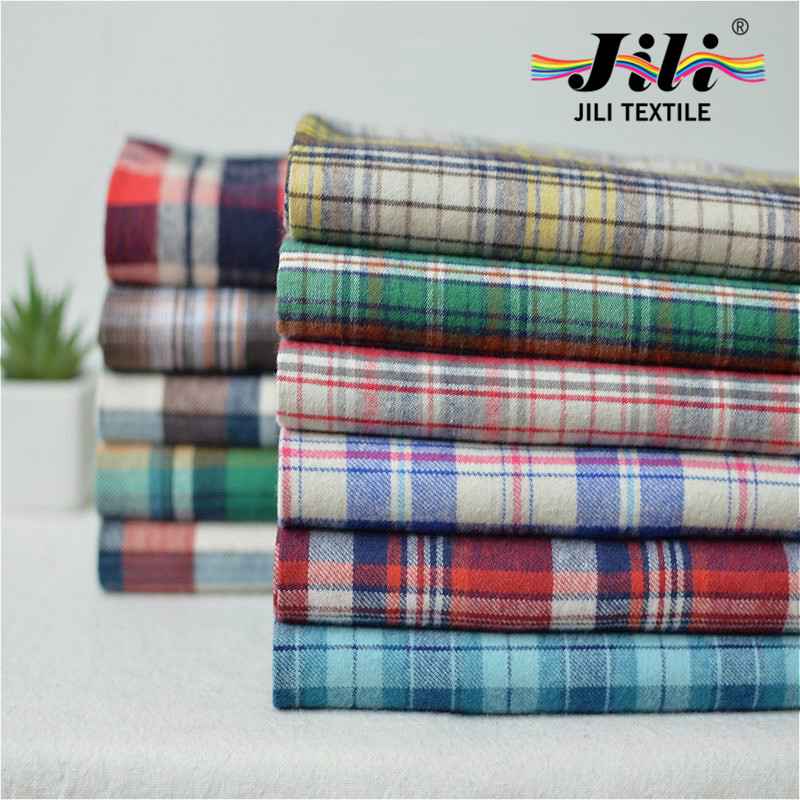 2016 NEW China supplier wholesale <strong>fabric</strong> textile 100% cotton material Combed Yarn Type dyed plaid <strong>fabric</strong>