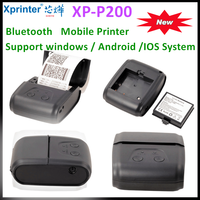 XP-P200 Bluetooth mobile printer support IOS,Android