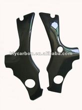 Carbon motorcycle parts frame covers for Suzuki