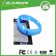 Wholesale Comfortable Silicone Waterproof LED Dog Collars