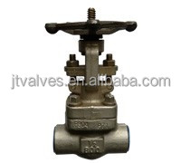 Forged Gate Valve #800 #1500 OS&Y API Trim 13Cr 304 Stellite