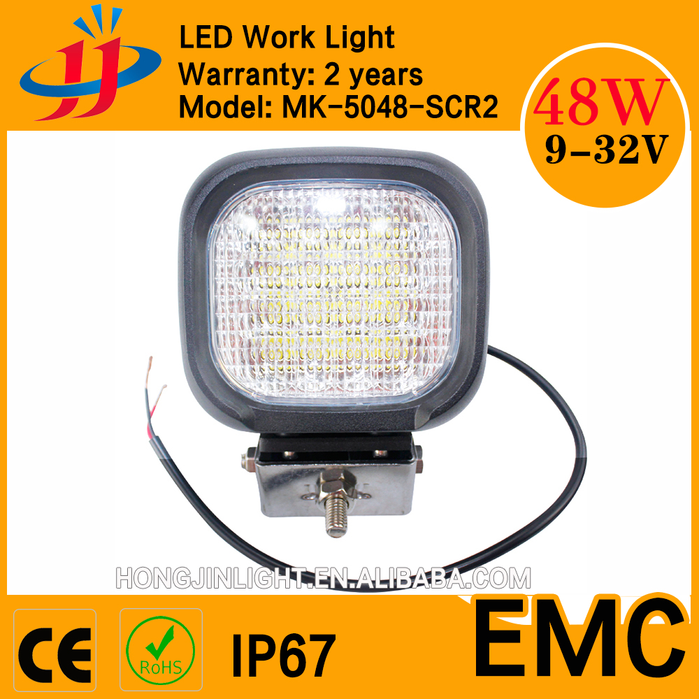 48W High lumen car led spot/flood light 12v work light 5inch