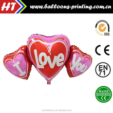 Valentine Romantic Love / Party Wedding Decoration Helium foil balloon