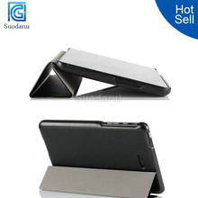 In Stock Luxury stand cover Flip leather case for DELL venue 8 Pro