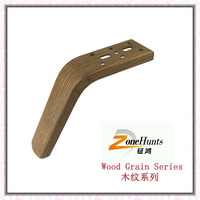 Wooden Color steel furnture legs for sofas 12WJ