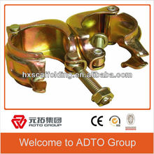 right angle scaffolding coupler pressed pipe clamp