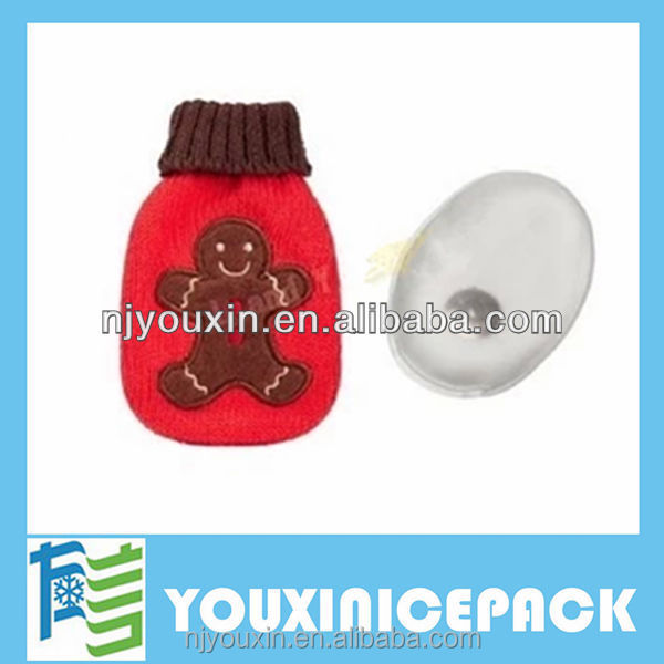 Environmental protection Christmas series Heat gel pad or hand warmer for kids