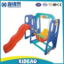 new style playground play set kids swing and slide indoor XA-T0804
