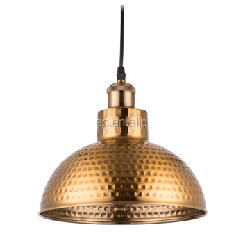 Retro Vintage Industrial Pendant Lamp, Antique Copper Iron Chandelier Lighting