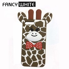 Cute cow style cheap portable silicone animal shaped phone cases