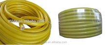 "Stock Promotion 1/2"" light yellow PVC garden hose for washing"