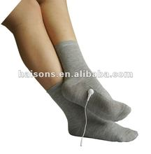 nano silver socks, massage socks for health