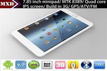 8inch tablet pc built in 3G Support phone call Android 4.2 MTK6589 Quad core dual cameras