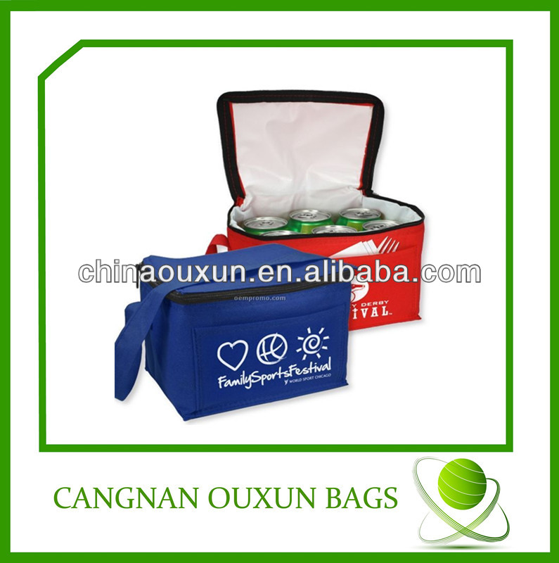 Printed non woven material insulated cooler bag fabric