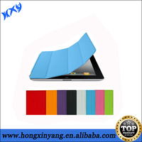 Stylish Strong magnetic PU leather skin for iPad 2 3 4