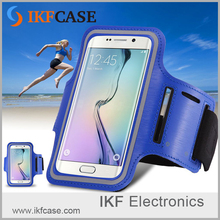 "PU Leather +Nylon Adjustable ArmBand Sport Universal 4/4.7/5.5/6.3"" Phone Case For Samsung Galaxy S7"