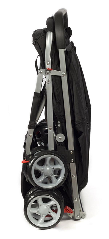 Pet Stroller 4-Wheel, Twin Carriage Black-4.jpg
