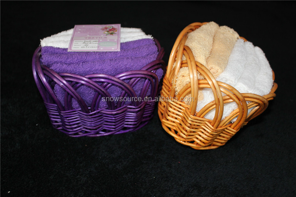 Basket towel set packing Made in China Supplier