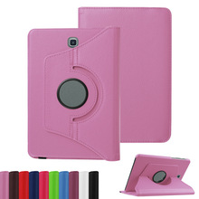 PU Leather 360 Rotating Smart Stand Case Cover For Samsung Galaxy Tab S2 9.7 inch T810 T815