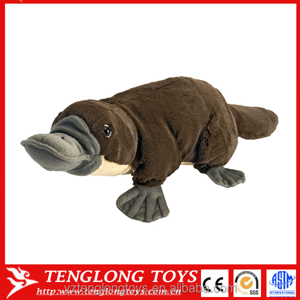 Lifelike Plush Toy Stuffed Platypus Animals