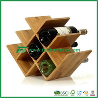 Fuboo bamboo standard display wine rack