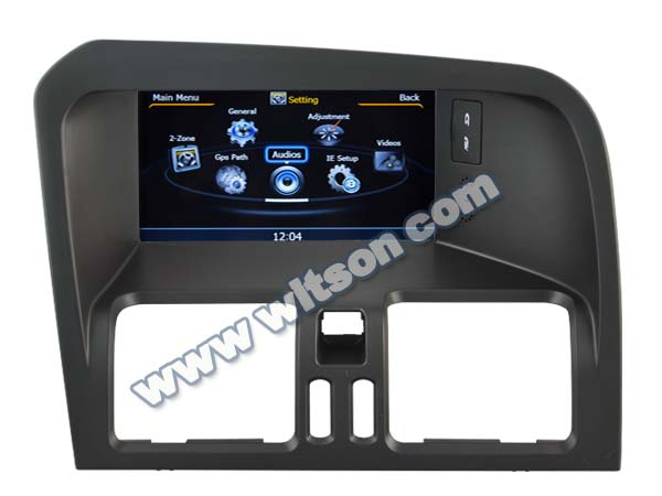 WITSON VOLVO XC60 CAR RADIO WITH A8 CHIPSET 1080P V-20DISC WIFI 3G INTERNET DVR SUPPORT