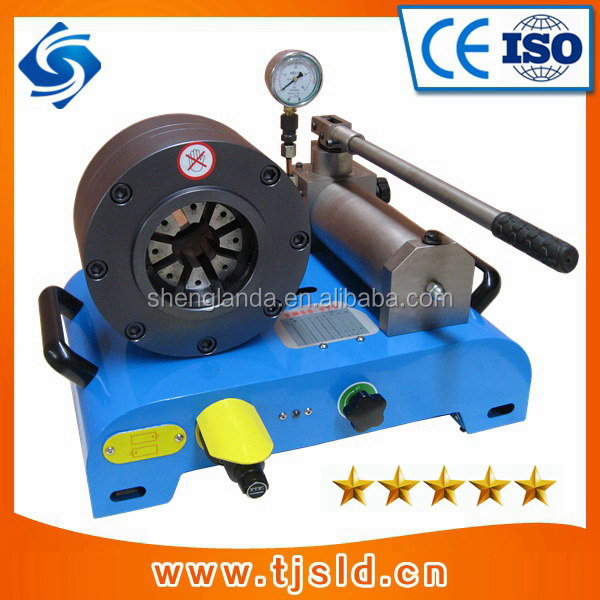Top quality classical hand operated hydraulic hose crimper