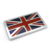 3d chrome UK Jack flag decal stickers for car