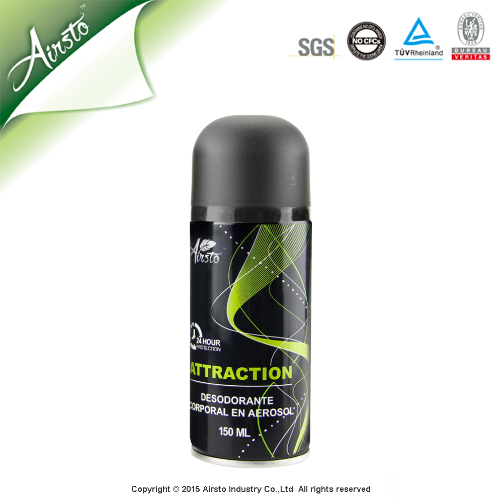 2015 Hot Sale Products Name Brand Deodorant Body Spray