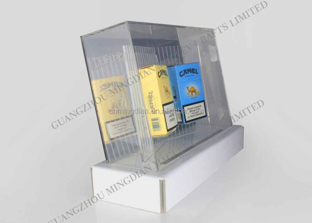 custom led acrylic cigarette display stand with the top light box,Electronic cigarettes