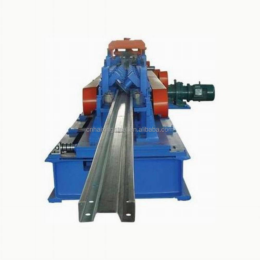 Lower Price high quality C Z Purlin roll forming machine