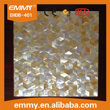 wholesale price rhombus mother of pearl seashell mosaic tile