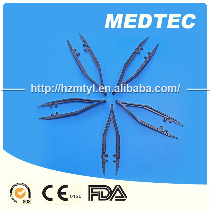 Disposable medical plastic tweezers and medical forceps FDA/CE/ISO approval