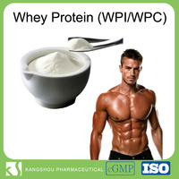 High quality food Grade nutritional supplyment 95% Whey protein isolate(WPI) Powder