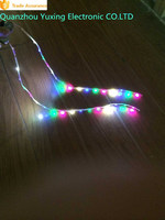 Color Change LED Flashing Lights For Shoe With Flexible Circuit Board
