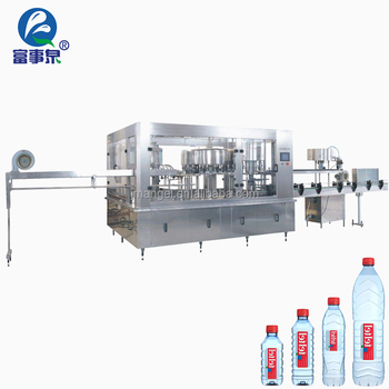 Advanced technology full automatic plastic bottle water filling machine