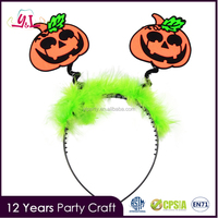 New Product 2016 Halloween Pumpkin Headbands For Party Supplies