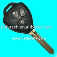 High quality Toyota Camry 3 buttons remote key with 315Mhz, 4D67 chip