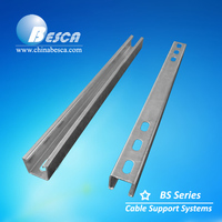 Stainless Steel 316 Unistrut Channel (UL, cUL, CE, IEC, TUV and SGS)