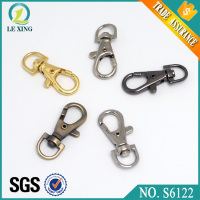 Save 20% high quality metal colorful trigger d ring bag keychain snap hooks